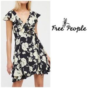Free People French Quarter Wrap Minidress Sz S